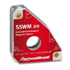 Schweißwinkelmagnet Standard SSWM 20 Schweisskraft 1790070-1790070-20