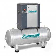 A-MICRO 4.0-08-200 (IE3) Schraubenkompressor mit Rippenbandriemenantrieb AIRCRAFT 2091612-S-2091612-S-20