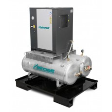 A-DUO-MICRO SE 4.0-08 2x100 K Schraubenkompressor mit Kältetrockner AIRCRAFT 2091662-2091662-20