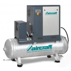 A-PLUS 8-08-270 K (IE3) Schraubenkompressor mit Rippenbandriemenantrieb u. Kältetrockner AIRCRAFT 2092262-2092262-20