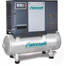 A-K-MAX 1510-500F K VS (IE3) Direktgeflanschte Schraubenkompressoren, Frequenzregelung, Kältetrockner auf Behälter AIRCRAFT 2095974-2095974-20