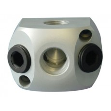Luftverteilerdose Aluminium für Gewinde-2151910-20