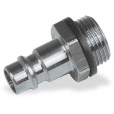 """Stecknippel Stahl 1/4"""" AG-2203009-20"""