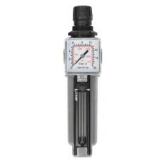 "Filterdruckregler 1/4"" 14bar m. Manometer 40 1/8"" hinten-2314000-20"