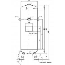 DB VZ 50/16 V Druckluftbehälter Art.-Nr. 2500818-2500818-20