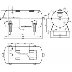 DB VZ 50/11 H Druckluftbehälter Art.-Nr. 2500619-2500619-20