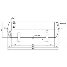 DB VZ 90/11 H Druckluftbehälter Art.-Nr. 2500622-2500622-20