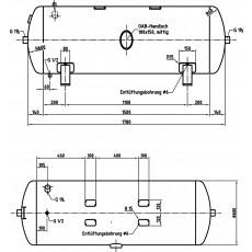 DB VZ 500/16 H Druckluftbehälter Art.-Nr. 2500851-2500851-20
