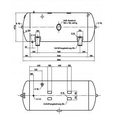 DB VZ 750/16 H Druckluftbehälter Art.-Nr. 2500876-2500876-20