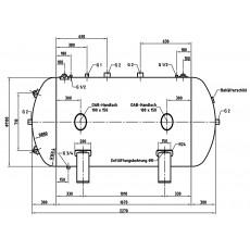 DB VZ 2000/16 H Druckluftbehälter Art.-Nr. 2500901-2500901-20