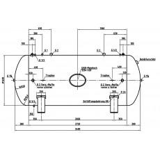 DB VZ 5000/11 H Druckluftbehälter Art.-Nr. 2500731-2500731-20
