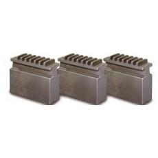 Blockbackensatz weich für Dreibackendrehfutter Ø 80 mm Blockbacken für Drehfutter Art.-Nr. 3442902-3442902-20