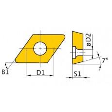 HM-Ersatzwendeplatten ISO DNMG110408 HM-Ersatzwendeplatten Art.-Nr. 3441750-3441750-20