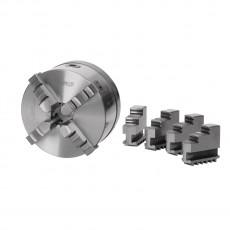 Vierbackendrehfutter Ø 200 mm Camlock DIN ISO 702-2 Nr. 6 zentrisch Vierbackendrehfutter zentrisch spannend Art.-Nr. 3442846-3442846-20