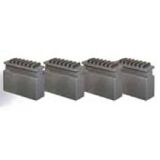 Blockbackensatz weich für Vierbackendrehfutter ø 160 mm Blockbacken für Drehfutter Art.-Nr. 3442926-3442926-20