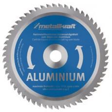"""Sägeblatt 230mm 9"""" Alu Z80 Metallkraft 3850232-3850232-20"""