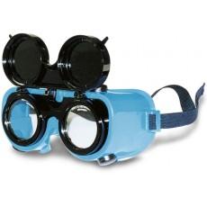 Hochklappbare Schweißerbrille farbl.splitterfr.DINA5-1600305-20