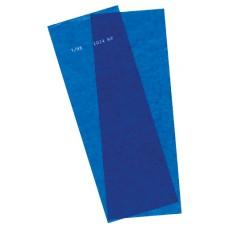 Kurzzeitschablone blau 21,5x27,5cm VE= 10 Stück-1231015KB-20