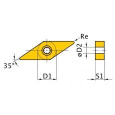 HM-Ersatzwendeplatten ISO VNMG160408 HM-Ersatzwendeplatten Art.-Nr. 3441701-3441701-20