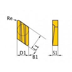 HM-Ersatzwendeplatten ISO KNUX160405R HM-Ersatzwendeplatten Art.-Nr. 3441754-3441754-20