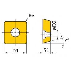 HM-Ersatzwendeplatten ISO SNMG090304 HM-Ersatzwendeplatten Art.-Nr. 3441755-3441755-20