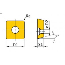 HM-Ersatzwendeplatten ISO SNMG120408 HM-Ersatzwendeplatten Art.-Nr. 3441756-3441756-20