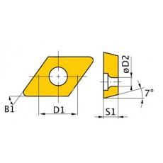 HM-Ersatzwendeplatten ISO DCMT070204 HM-Ersatzwendeplatten Art.-Nr. 3441758-3441758-20