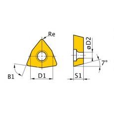 HM-Ersatzwendeplatten ISO WCMT050308 HM-Ersatzwendeplatten Art.-Nr. 3441759-3441759-20