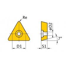 HM-Ersatzwendeplatten ISO TCMT090204 HM-Ersatzwendeplatten Art.-Nr. 3441760-3441760-20