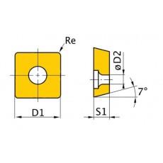 HM-Ersatzwendeplatten ISO SCMT060204 HM-Ersatzwendeplatten Art.-Nr. 3441761-3441761-20