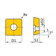 HM-Ersatzwendeplatten ISO SCMT09T304 HM-Ersatzwendeplatten Art.-Nr. 3441763-3441763-20
