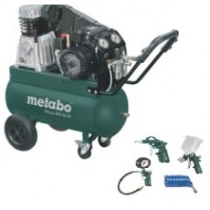 Metabo Kompressor Mega 400 50 D 60153700 Sonderaktion inkl. LPZ 4 Zubehör-Set-60153700-20