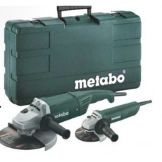 Metabo Winkelschleifer-Set WX 2200 + W 820-125, 6.85073.00-68507300-20