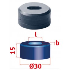 Langlochmatrize Nr.30 8,3 x 13,3 mm Langlochmatrize für Mubea Lochstanzen Art.-Nr. 388948,3X13,3-388948,3X13,3-20