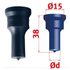 Rundstempel Nr.1 Ø 5,0 mm Rundstempel für Mubea Lochstanzen Art.-Nr. 388935,0-388935,0-20