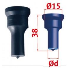 Rundstempel Nr.1 Ø 7,0 mm Rundstempel für Mubea Lochstanzen Art.-Nr. 388937,0-388937,0-20