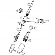 Brenner Tig 26 8m für Easy-TIG 200HF-1100028-20