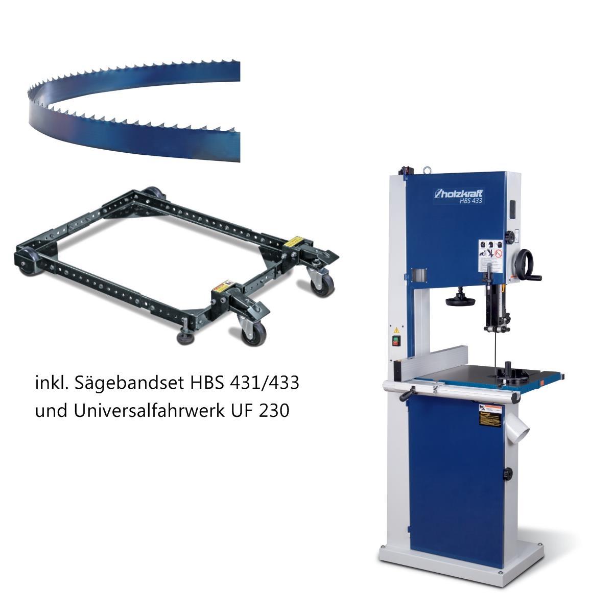 Sägeband HBS 431//433 3345x25x0,5mm Holzkraft 5160435  HBS431 HBS433