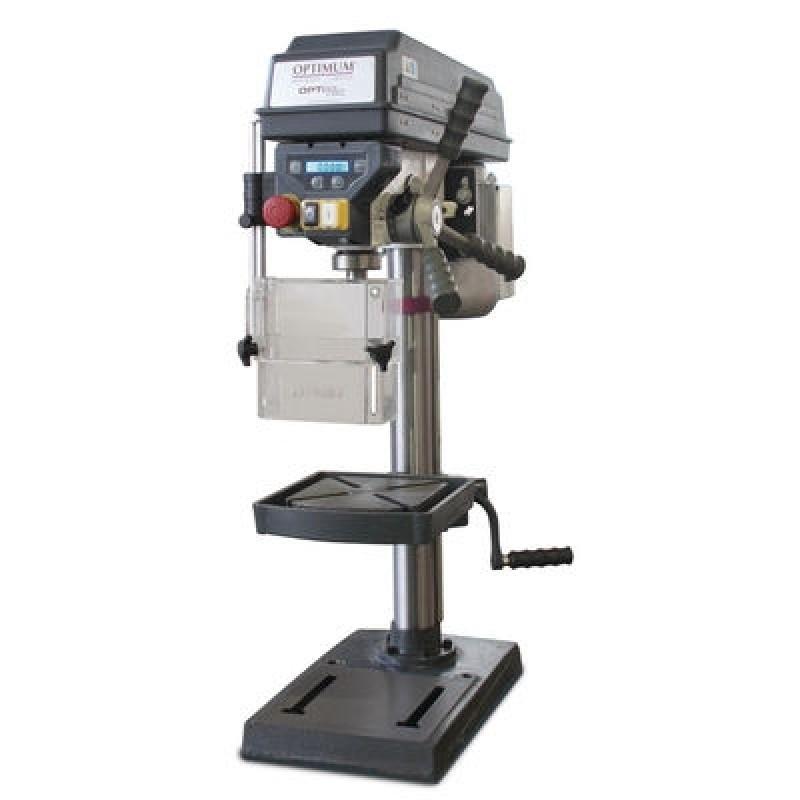 OPTIMUM B 24 H SET Schraubstock BMS 100 in 230 V oder ... Bohrmaschine