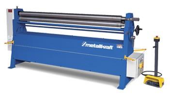 Metallkraft RBM 305 asymmetrische 3-Walzen-Rundbiegemaschine Manuelle