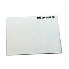 Vorsatzglas farblos 40x110 VE=100-1601301-20