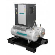 A-DUO-MICRO SE 4.0-10 2x100 K Schraubenkompressor mit Kältetrockner AIRCRAFT 2091664-2091664-20
