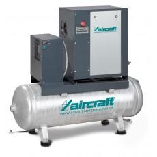 A-MICRO 4.0-08-200 K (IE3) Schraubenkompressor mit Rippenbandriemenantrieb u. Kältetrockner AIRCRAFT 2091652-S-2091652-S-20