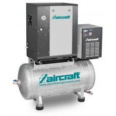 A-MICRO SE 4.0-10-200 K (IE3) Schraubenkompressor mit Kältetrockner AIRCRAFT 2091654-2091654-20