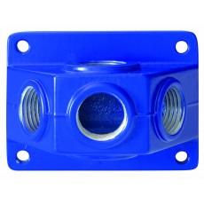 Luftverteilerdose VDK 30 3*G 1/2i / 1*G 3/4i Alu-2150930-20