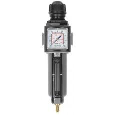 "Filterdruckregler 1/2"" 14bar m. Manometer 40 1/8"" hinten-2314200-20"