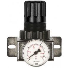 """Druckregler 1/4"""" 12 bar mit Manometer Ø40mm-2316050-20"""