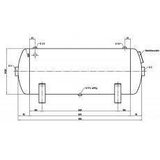 DB VZ 150/11 H Druckluftbehälter Art.-Nr. 2500624-2500624-20