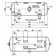 DB VZ 250/11 H Druckluftbehälter Art.-Nr. 2500626-2500626-20