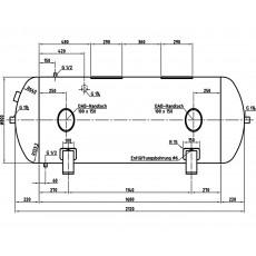 DB VZ 1000/11 H Druckluftbehälter Art.-Nr. 2500681-2500681-20